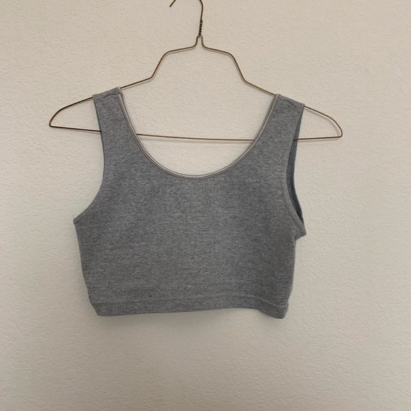 Urban Outfitters Tops - grey bralette/crop top